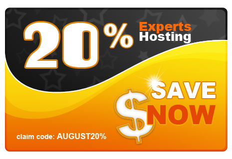 August Sale 20% Off