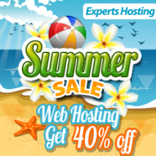 Summer Sale 2013 – 40% Off